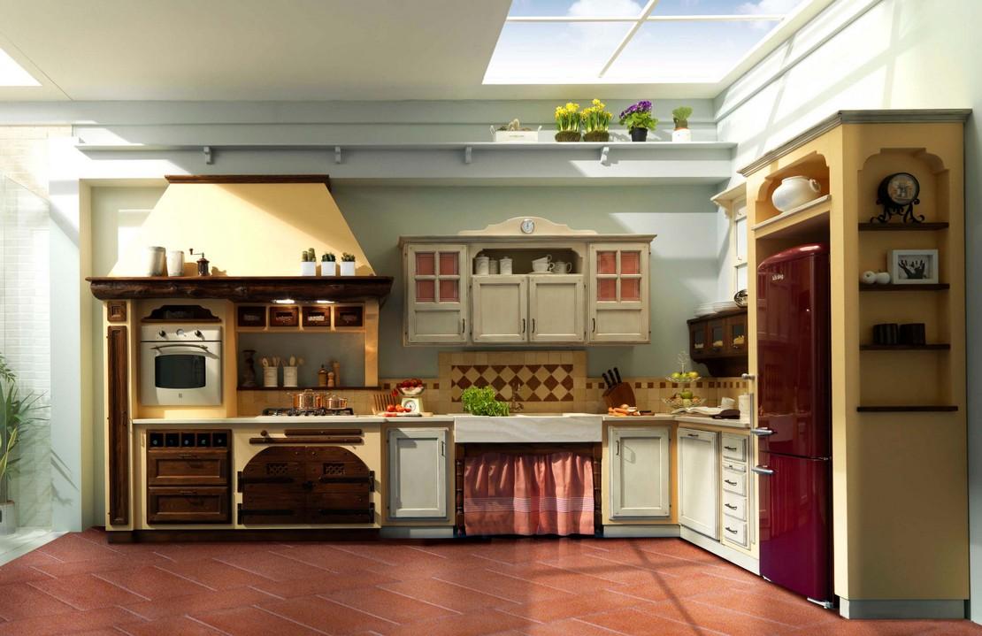 Cucine Rustiche in vero legno-Quando la materia divinta ...