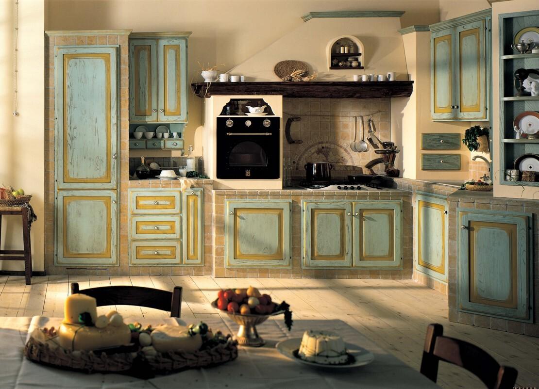 FOTO CUCINE RUSTICHE IN LEGNO - Cucine Rustiche in vero ...